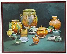 J. D. CASTRO - Oil on canvas