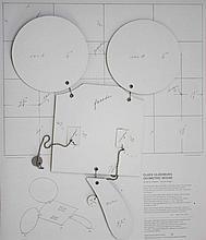CLAES OLDENBURG - Paper and metal multiple