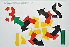 ROBERT INDIANA - Color lithograph