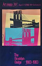 ANDY WARHOL - Original color offset lithograph