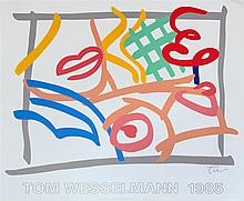 TOM WESSELMANN - Color silkscreen