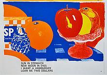 TOM WESSELMANN - Color lithograph