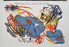 ASGER JORN - Color lithograph