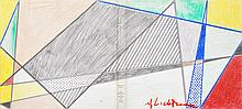ROY LICHTENSTEIN - Color offset lithograph
