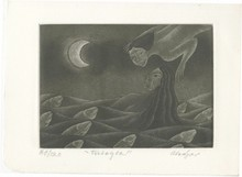 JUAN ALCAZAR - Etching and aquatint