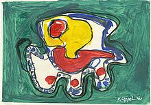 KAREL APPEL [AFTER] - Oil on paper