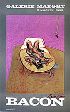 FRANCIS BACON - Original color lithograph