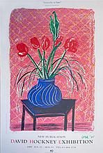 DAVID HOCKNEY - Color offset lithograph