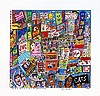 JAMES RIZZI - Color silkscreen and lithograph