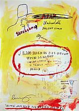 JEAN-MICHEL BASQUIAT - Color offset lithograph