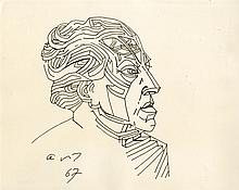 ANDRE MASSON - Original pen and ink drawing