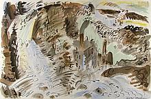 ANDRE MASSON - Color lithograph