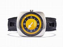 Longines Comet Wristwatch, Ref. 8475, Switzerland, c. 1972