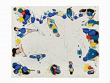 Sam Francis, Monoprint, Untitled, USA, 20th C.