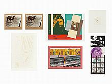 R.B. Kitaj, Group of 7 Prints, USA, 20th C.