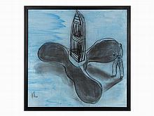 Kcho, Mixed Media on Canvas, Propel, Cuba, 21st C.