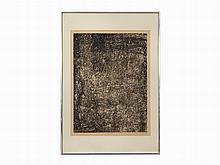 Jean Dubuffet, Lithograph, Vie Diffuse, France, 1959