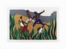 Jacob Lawrence, Screenprint, To Preserve their Freedom, 1988