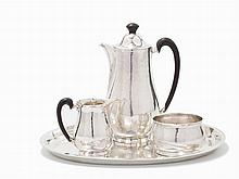Emmy Roth, A Four-Piece Silver Coffee Service, Germany, c. 1930