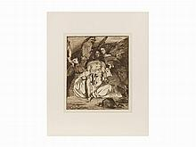 Édouard Manet, Etching, 'Christ aux Anges', 1866-1867