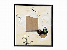 Kevin Larmon, Oil on Canvas, 'Q', 1986