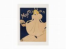 Henri de Toulouse-Lautrec, Lithograph, 'May Milton', 1895