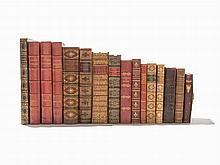 16 Volumes of Historical Editions & Bindings, 1767-1898