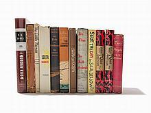 12 Modern First Editions, New York, 1931-2003