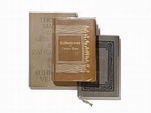 Thomas Mann, 3 Vols., w/ Notations by Ernst Bertram, 1906-48