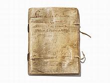 Spanish Account Book, 1764-1774