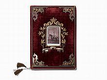 Archduke R. Ferdinand of Austria's Birthday Book, Baden, 1907