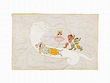 The Asuras Madhu and Kaitabha Attack Brahma, c. 1765