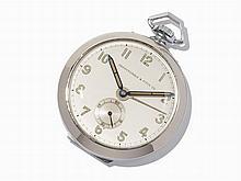 Abercrombie & Fitch Alarm Pocket Watch, Switzerland, c.1950