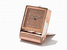 Cartier Travel / Table Clock, Switzerland, c.1940
