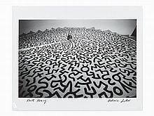 Vladimir Sichov, Gelatin Silver Print, 'Keith Haring', 1987