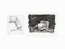 Claes Oldenburg, Pair of Lithographs, 1989-1997