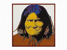 Andy Warhol, 'Geronimo', Screenprint, 1986