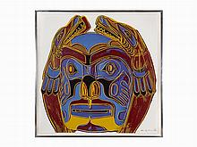 Andy Warhol, 'Northwest Coast Mask', Screenprint, 1986