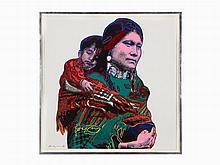 Andy Warhol, 'Mother & Child', Screenprint, 1986