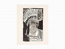 Roy Lichtenstein, 'The Chief', Lithograph, 1956