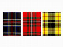 Sarah Charlesworth, 'Tartan', Set of Photolithographs, 1986