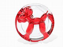 Jeff Koons, 'Balloon Dog (Red)', Porcelain, 1995