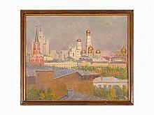 Leonid Leibowitsch Reznitski, Golden Domes. Kremlin