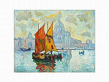 Konstantin Ivanovich Gorbatov, 'Venice...,' c. 1926