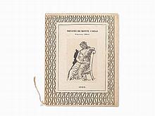 """Picasso & Ballets Russe, """"Théatre De Monte-Carlo,"""" 1923"""