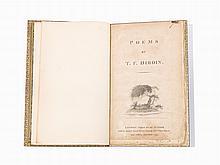 "T.F. Dibdin. ""Poems. London, 1797"