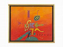 Jose Gamarra, Untitled, Oil on Board, 1966