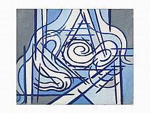 "Benjamin Benno, ""White + Ultramarine + Gray + Madder,"" 1952"