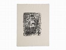 Roberto Matta, Untitled, Lithograph, 1955