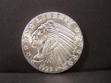 INDIAN UNCIRCULATED 1 TROY OUNCE .999 FINE SILVER